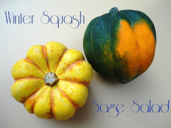 Winter Squash Sage Salad