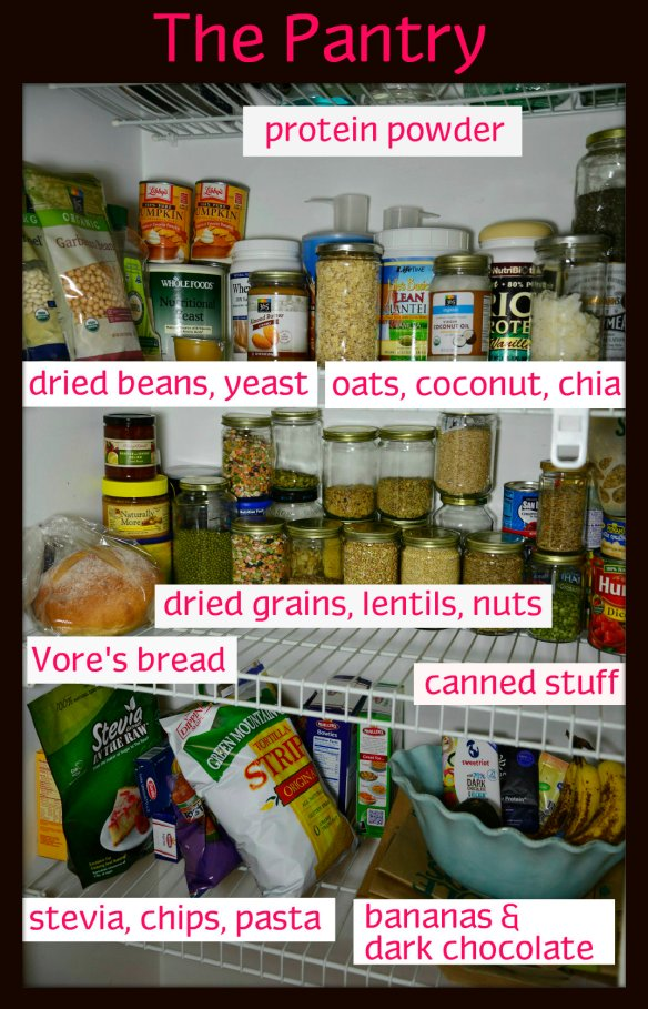 Pantry labeled 1