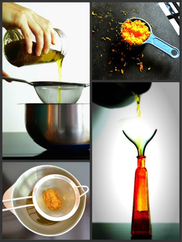 Orange Oil Collage