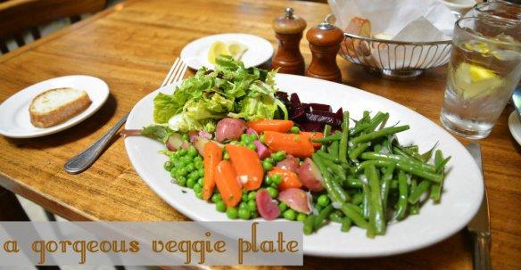 Starring Veggie Plate 1
