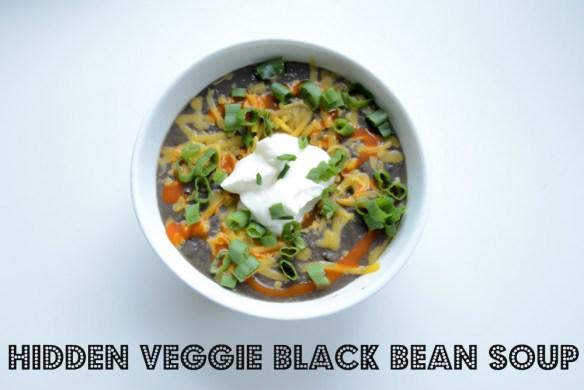 Black bean soup text